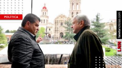AMLO en Coahuila: anuncia inspecciones a negocios cada seis meses y por sorteo