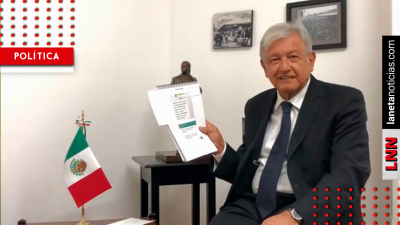 AMLO comparte información sobre nuevo acuerdo del Naicm