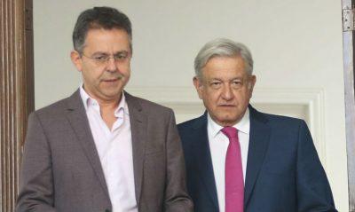 AMLO desmiente que César Yáñez haya presentado su renuncia