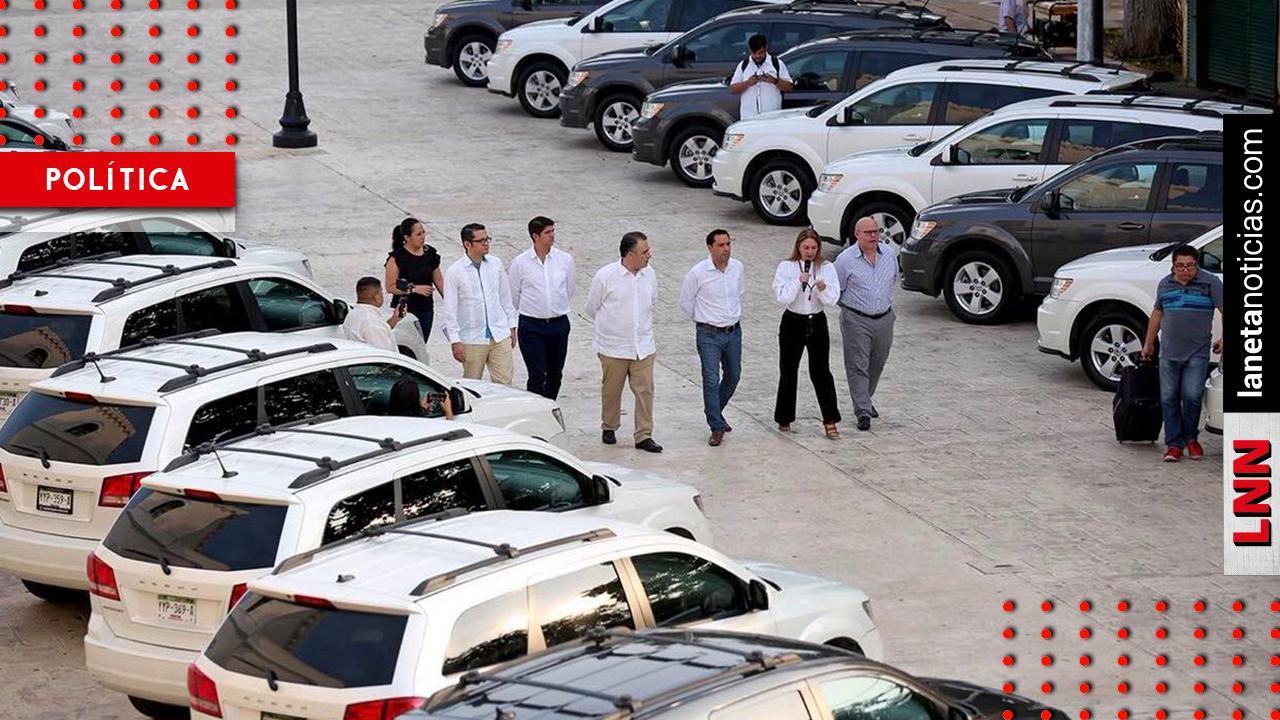 Gobierno de Yucatán devuelve autos lujosos por plan de austeridad