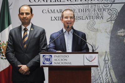 Marko Cortés se deslinda de Ricardo Anaya; dice que su gestión 'fue un desastre'