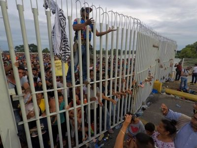 ¿Por cuáles ciudades pasaría la caravana migrante?