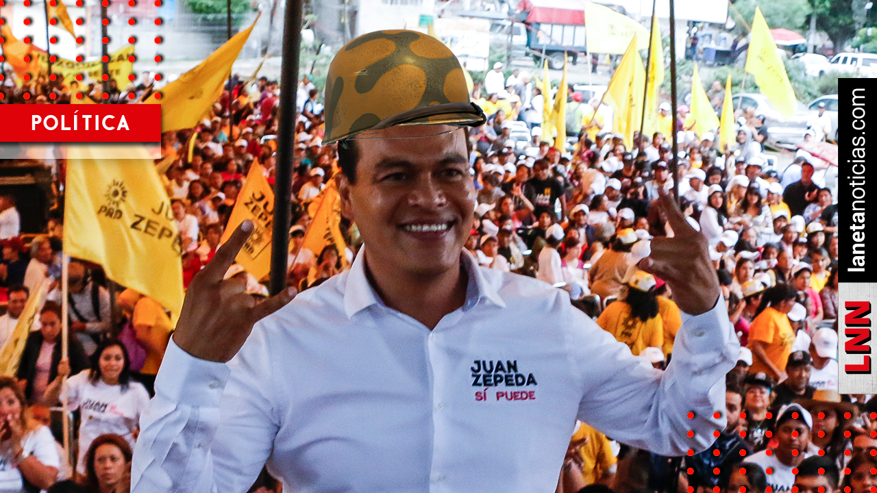 Soy un soldado del PRD y si soy útil para la dirigencia, ahí estaré: Juan Zepeda