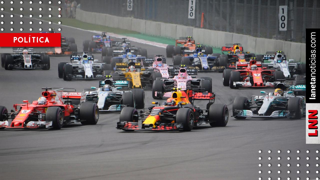 Futuro secretario de Turismo decidirá si Fórmula 1 continúa en México: Soberón