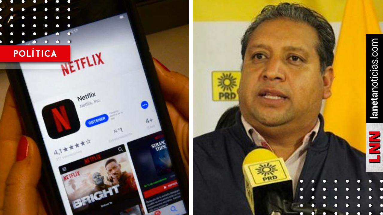 PRD propone impuestos al uso de Face, Netflix, Uber y otros servicios digitales