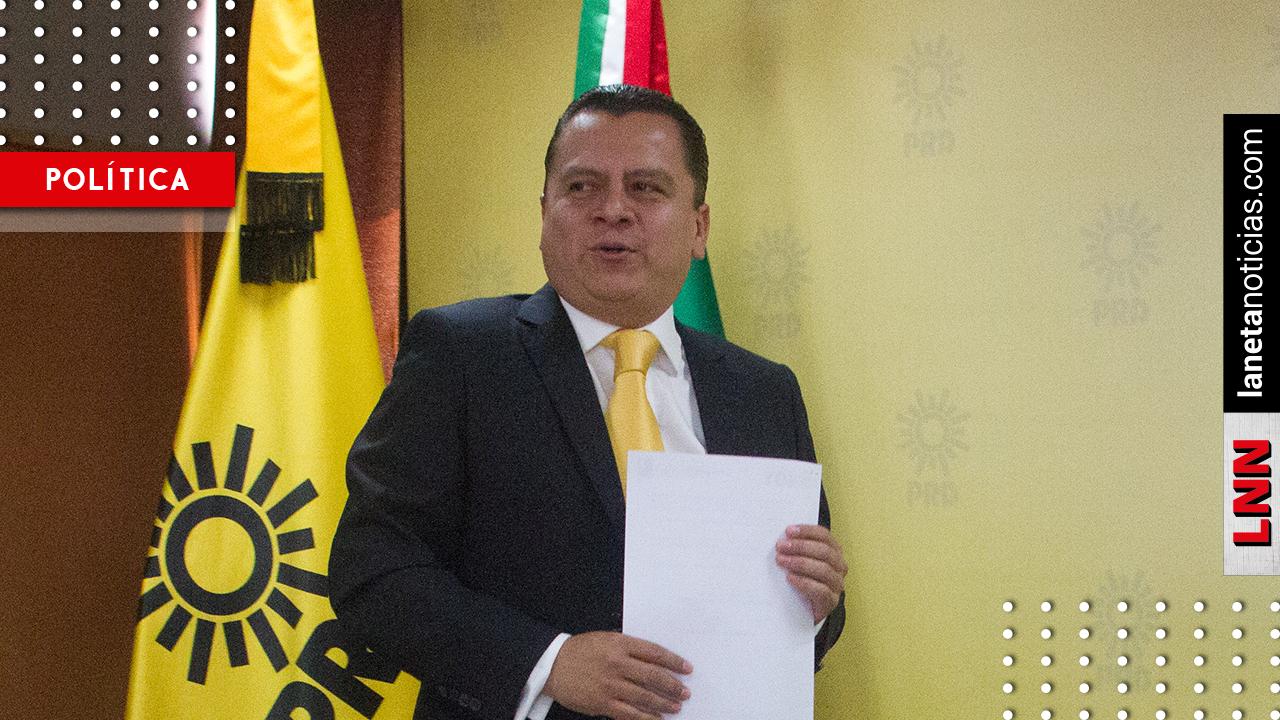 PRD se queda sin presidente; Manuel Granados renuncia al cargo