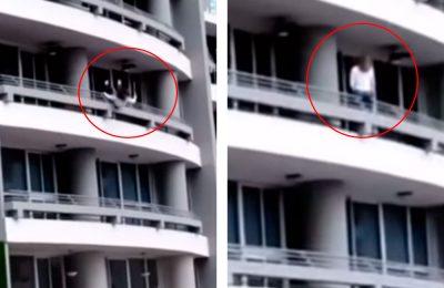 Mujer busca la selfie perfecta y muere al caer de un edificio (VIDEO)