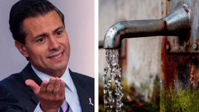 Senado exige a Peña frenar la privatización del agua