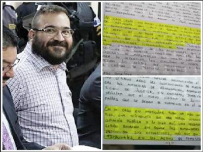¡Cínico! Javidú dice que sonrió en detención porque su caso es 'circo mediático'
