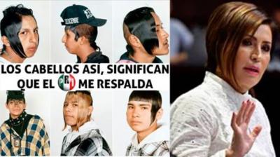 Rosario Robles desata lluvia de memes por particular atuendo (FOTOS)