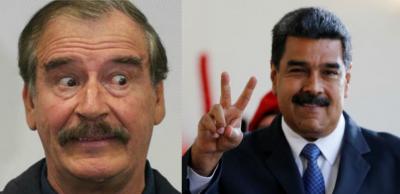 ¡Ni Maduro, ni otras fichitas!: Vicente Fox cuestiona invitados de AMLO