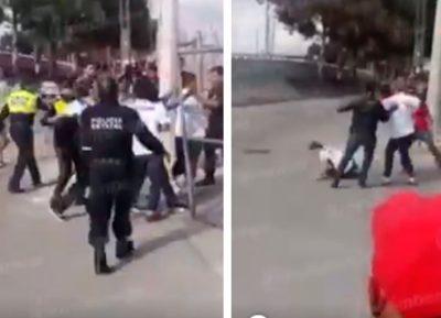Difunden pelea entre aficionados de Puebla y Lobos BUAP afuera del estadio