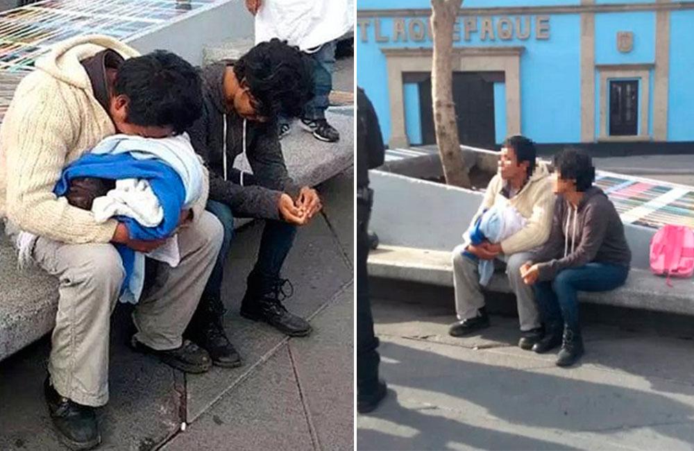 Tadeo, el bebé que murió en la calle a causa de la pobreza extrema de sus padres