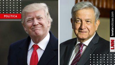 'Donald Trump aceptó que el acuerdo quedara como yo quería', revela AMLO