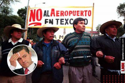 Peña, culpable del 'desastre' del Naicm: The Economist