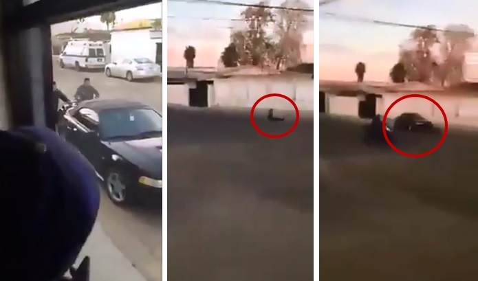 Arrollan bestialmente a joven que intentaron secuestrar en Sonora (VIDEO)
