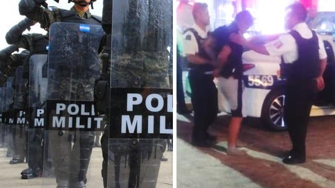 <i>¡Una vergüenza!</i> Detienen a elementos de la Policía Militar por borrachos