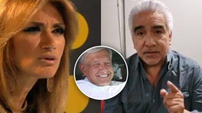 Adela Micha y Ricardo Alemán protagonizan discusión en Twitter por culpa de AMLO