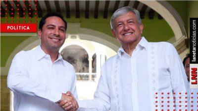 AMLO define acciones de gobierno para Yucatán con Mauricio Vila