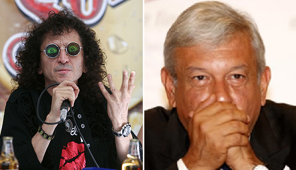 Alex Lora celebra 50 años de rock y manda contundente mensaje a AMLO