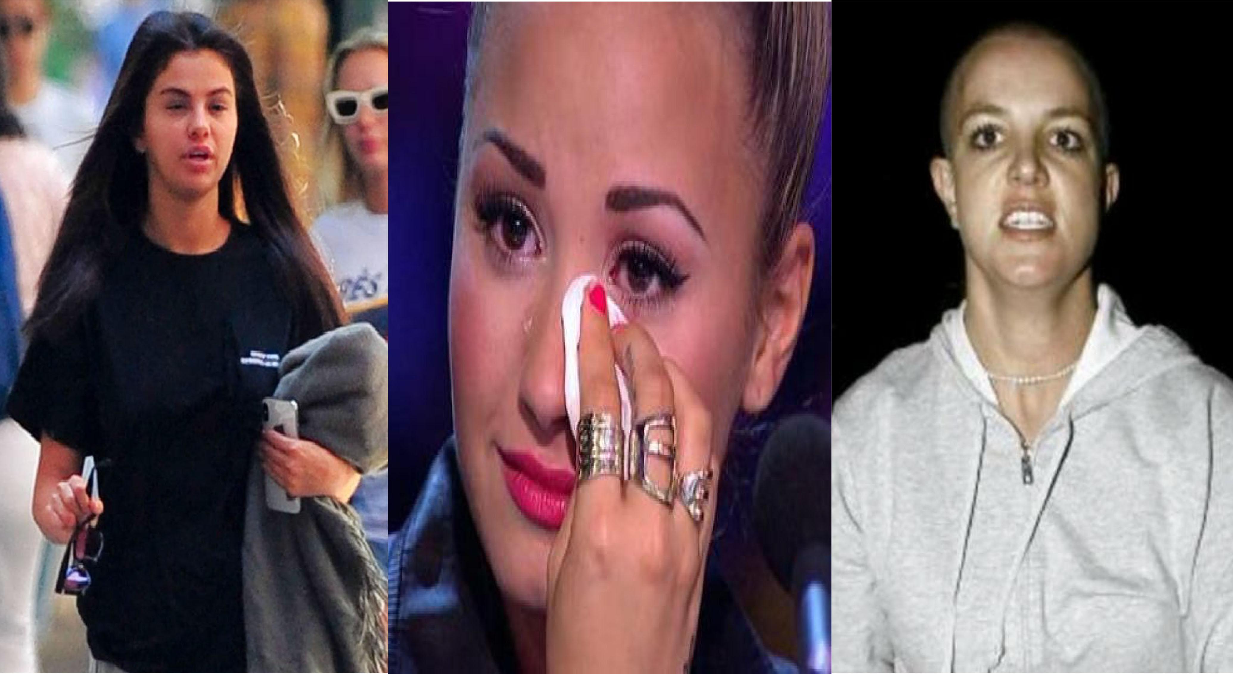 Conoce a 7 famosas que <i>destrozan</i> su vida y van al psiquiátrico (FOTOS)