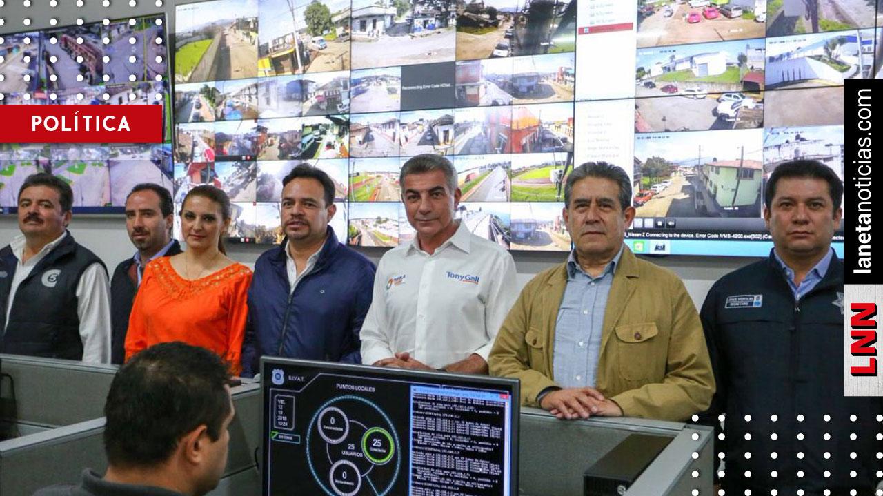 Tony Gali inaugura Subcentro Regional C5 en Zacatlán