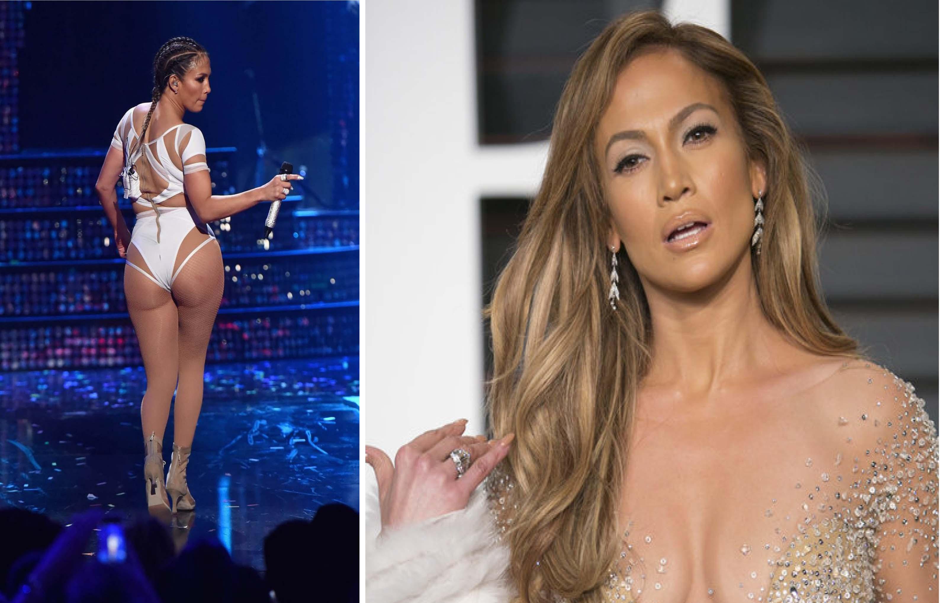 Jennifer Lopez enloquece a sus seguidores con escote de infarto (FOTO)