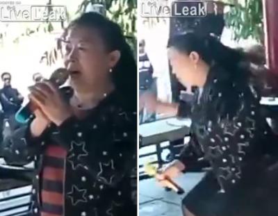 Impresionante, filtran video de mujer que muere en plena presentación