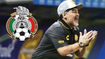 <i>¿Mano de D10S?</i> Maradona se postula para dirigir a la Selección mexicana