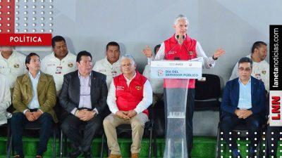 Alfredo del Mazo reconoce labor de servidores públicos mexiquenses. Noticias en tiempo real