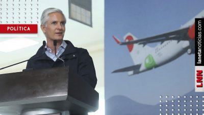 Alfredo del Mazo respeta decisión sobre construcción del nuevo aeropuerto. Noticias en tiempo real