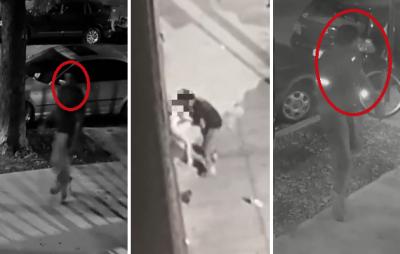 Indigna filmación de hombre intentando abusar de una mujer en la calle (VIDEO)