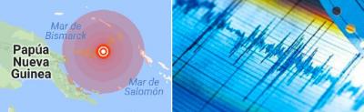 Terremoto de 6.3 grados sacude las Islas de la Lealtad en el Pacífico
