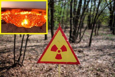 <i>¿Creación de Satanás?</i> Extraño agujero que <i>escupe</i> fuego aterra a pobladores
