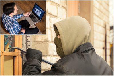 Se mete a un hogar para robar y lo cachan por ver películas <i>nopor</i>