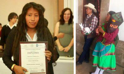 Familia indígena conmueve a internet con mensaje a su hija recién graduada (FOTOS)