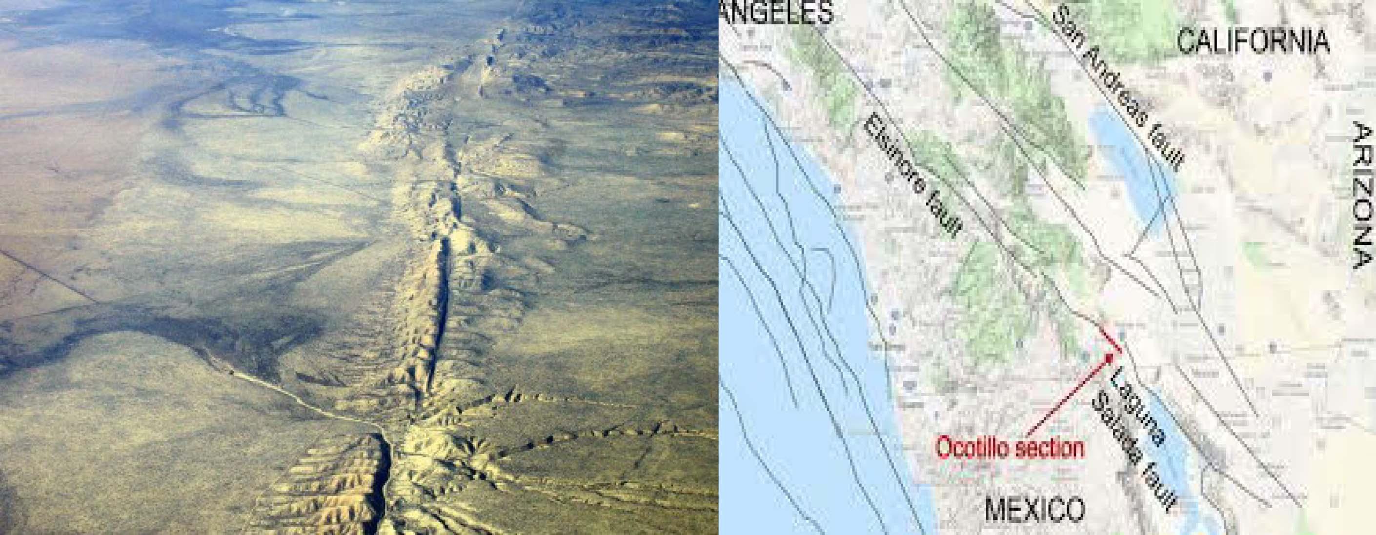 Tremenda falla geológica al norte de México preocupa a la NASA