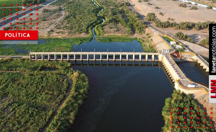 Conagua pretende entregar 300 millones de litros de agua a Estados Unidos