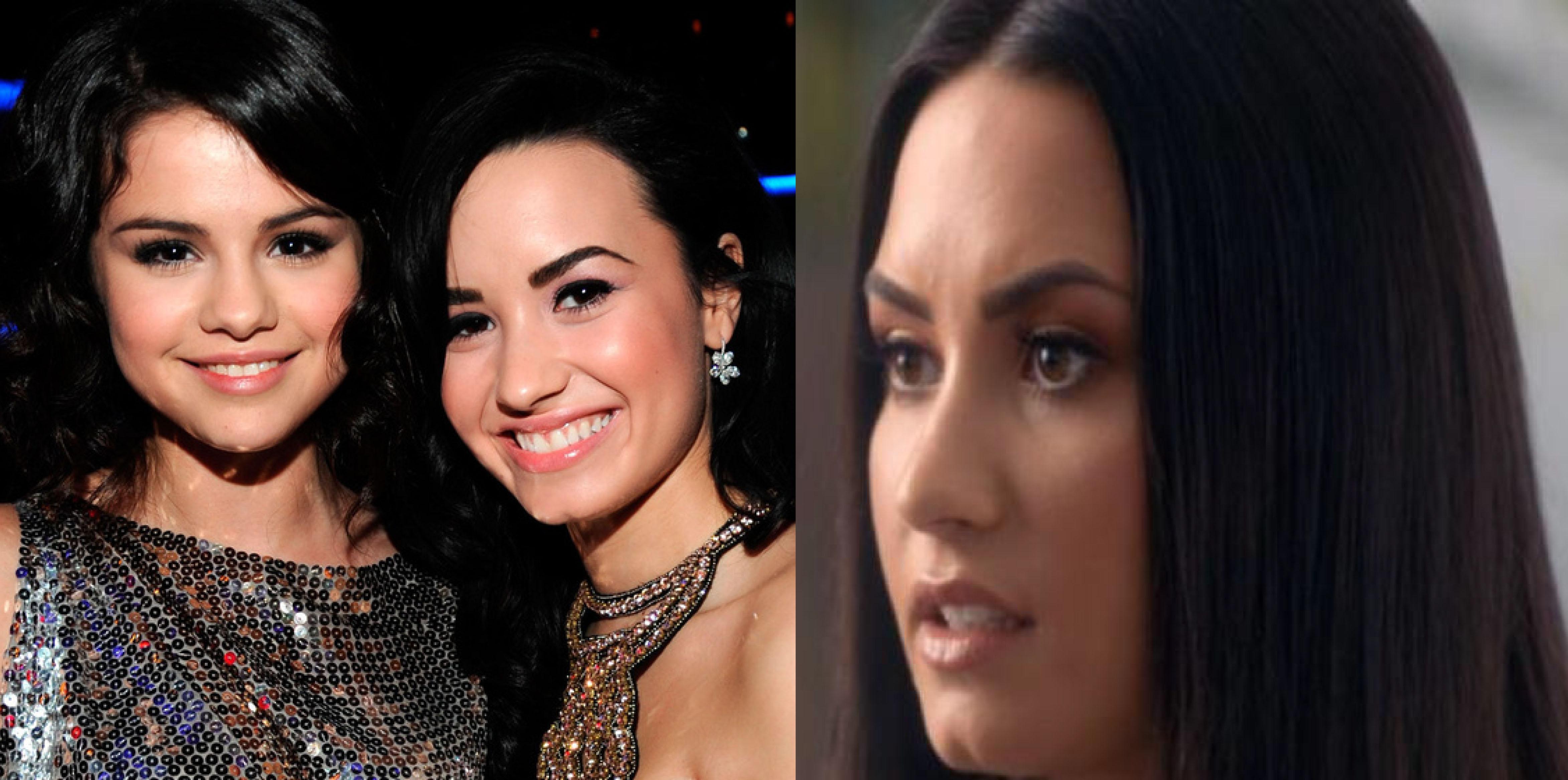 <i>Con el corazón roto</i>: Demi Lovato reacciona a la crisis de Selena Gomez