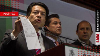 El martes se presentará propuesta sobre creación de Guardia Nacional: Delgado