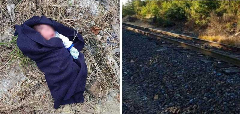Estremece rescate de bebé abandonado en las vías del tren de Veracruz