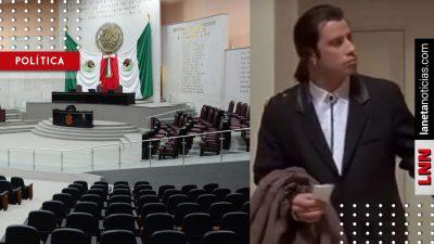 Huevonazos: exhiben a diputados faltistas en Veracruz; solo 2 acuden al Congreso. Noticias en tiempo real