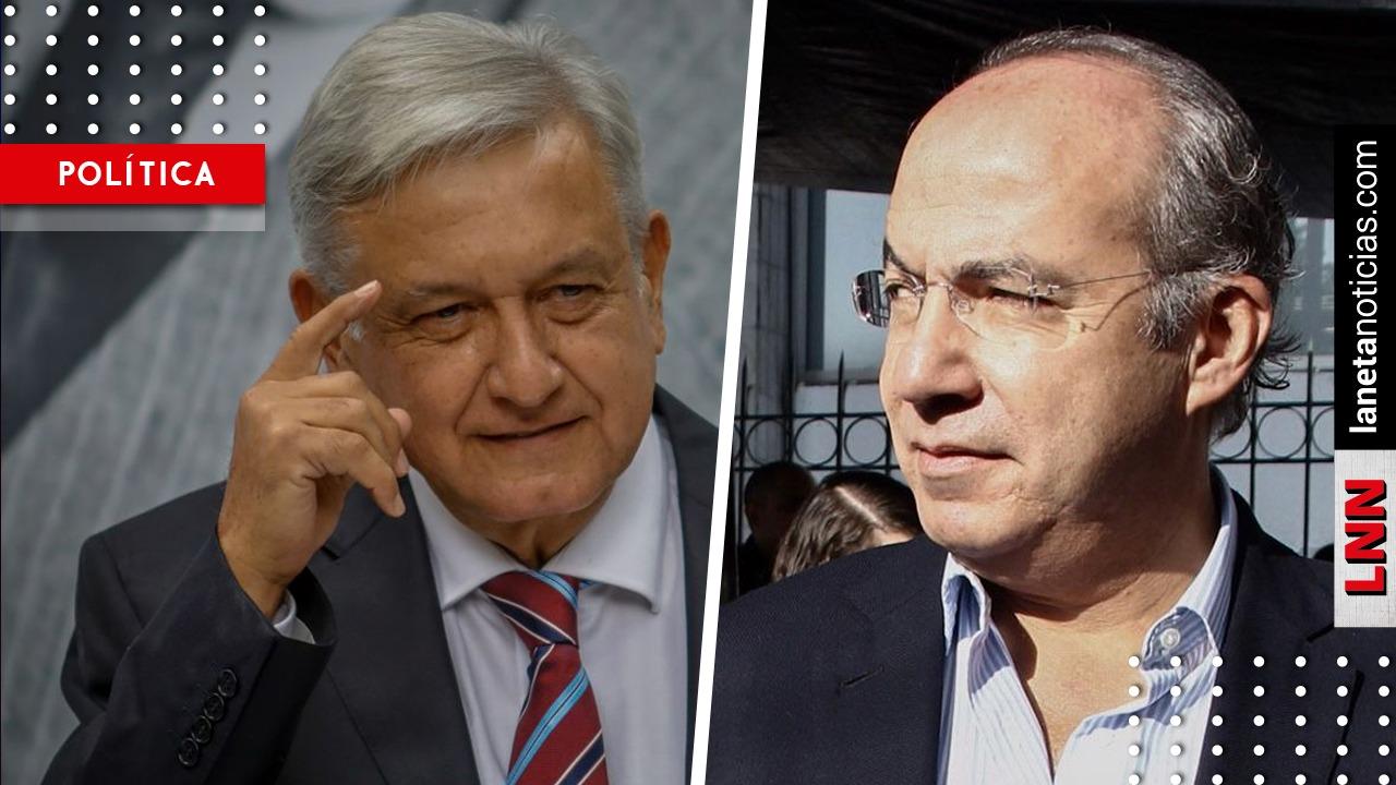 AMLO rompe el silencio y opina sobre partido que formará Felipe Calderón
