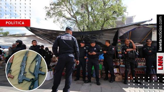 ¡Lo bueno que garantiza seguridad! SSP dice que 'perdió' 300 armas en Michoacán