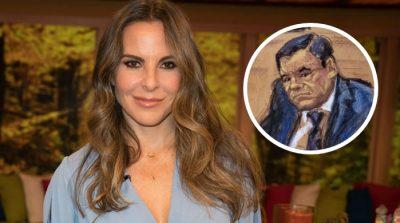 Dan importante anuncio sobre Kate del Castillo en pleno juicio de El Chapo