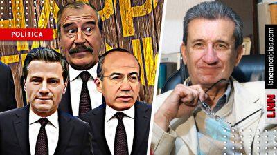 Padre de Loret da cátedra de periodismo al decir verdades a Peña, Calderón y Fox