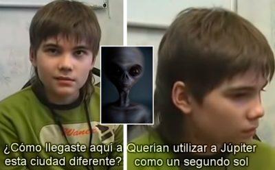 Boriska: el niño 'alien que vivió en Marte y reencarnó en la Tierra' (VIDEO)
