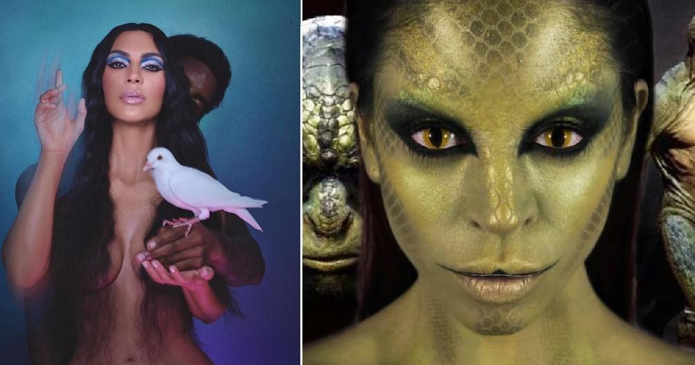 <i>¿Están entre nosotros?</i> Aseguran que Kim Kardashian es reptiliana