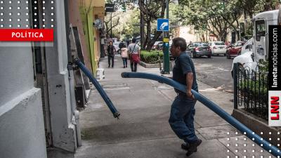 ¡Aguas! Anuncian multas de 3 millones a pipas gandallas durante megacorte. Noticias en tiempo real
