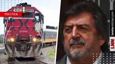 Jiménez Pons prevé que Tren Maya sea para carga y pasajeros. Noticias en tiempo real